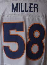 Mens High Quality 100% Stitched Color Derek Blue Orange White Wolfe Jerseys(China (Mainland))