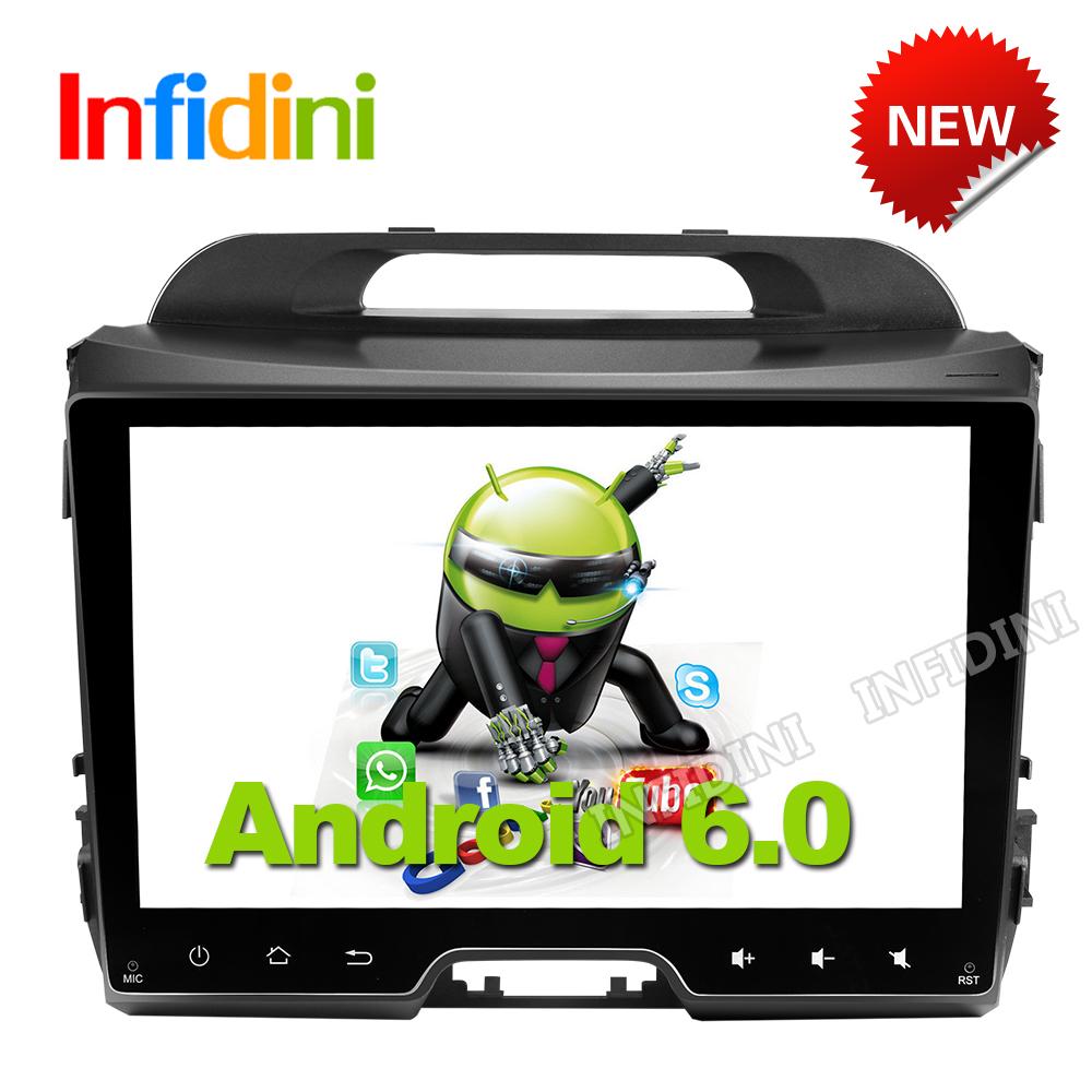 android 6.0 car dvd gps player navigation 2 din in dash car radio video gps KIA sportage r sportage 2014 2011 2012 2013 2015(China (Mainland))