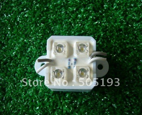 Super Flux Led Module for Sign Light, Waterproof DC12V 0.48W , 100pcs/lot,free shipping(China (Mainland))