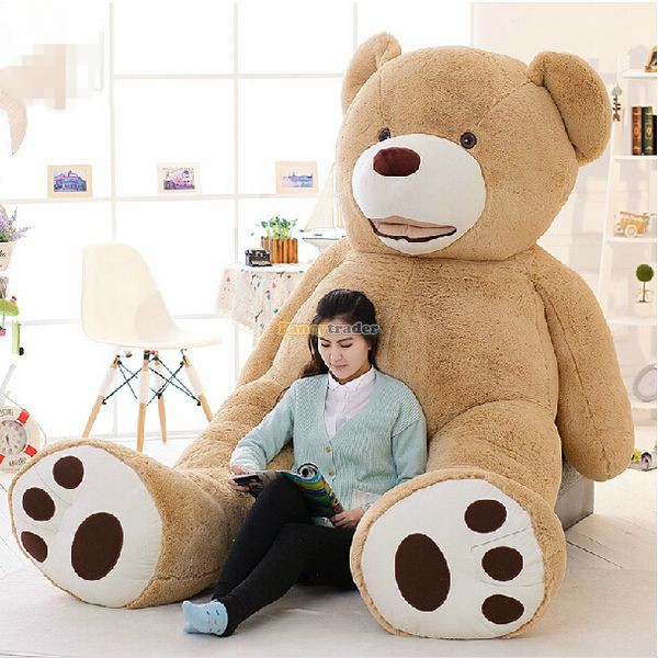 Плюшевая игрушка Huge stuffed bear Fancytrader ! 102' /260 Costco ,  FT50369 eos costco