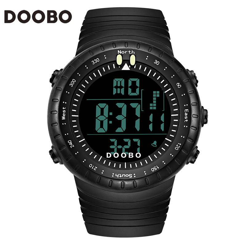 DOOBO Luxury Brand Men Women Sports Watches Digital LED Military Watch Waterproof Outdoor Casual Wristwatches Relogio Masculino(China (Mainland))