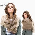 New for women autumn winter Scarf striped Designer Acrylic Blanket wrap Warm fashion Scarf Shawl 195