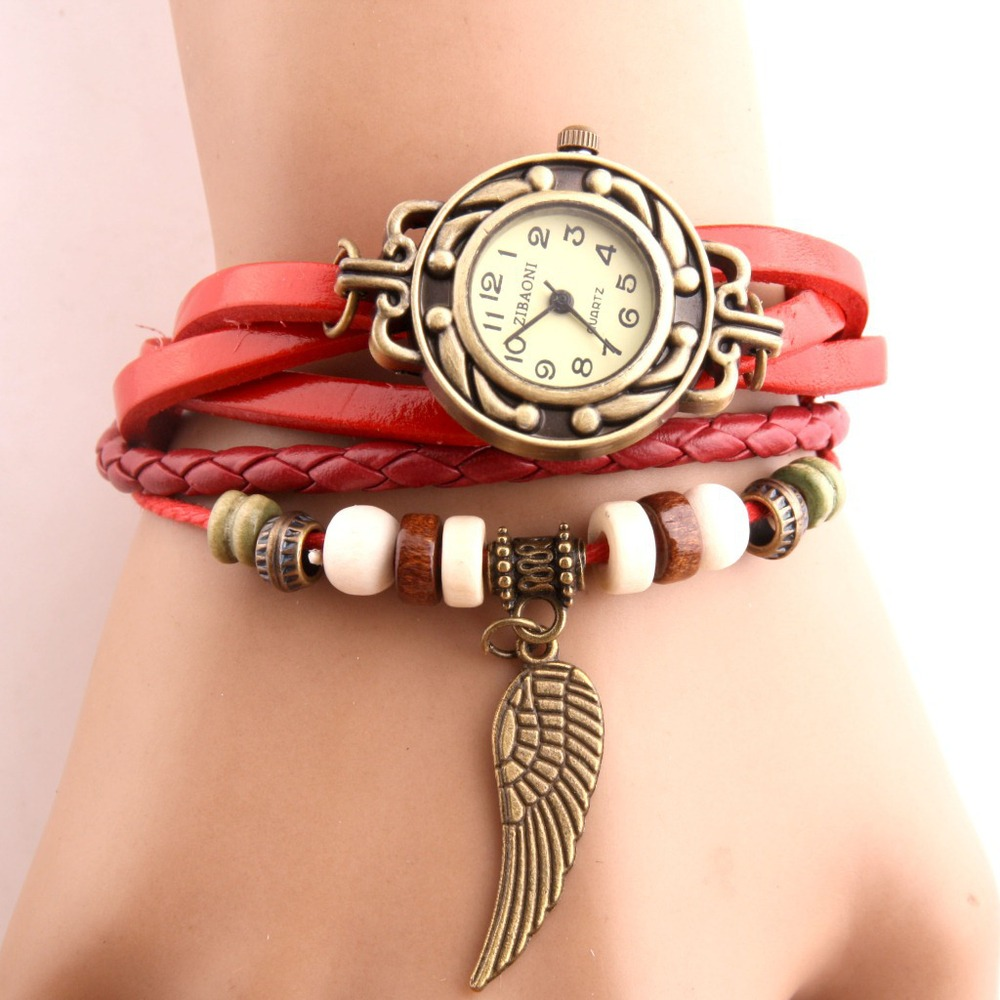 Korean fashion watches wholesale stalls selling arena creative new exquisite wings vintage watches priced in direct marketing(China (Mainland))