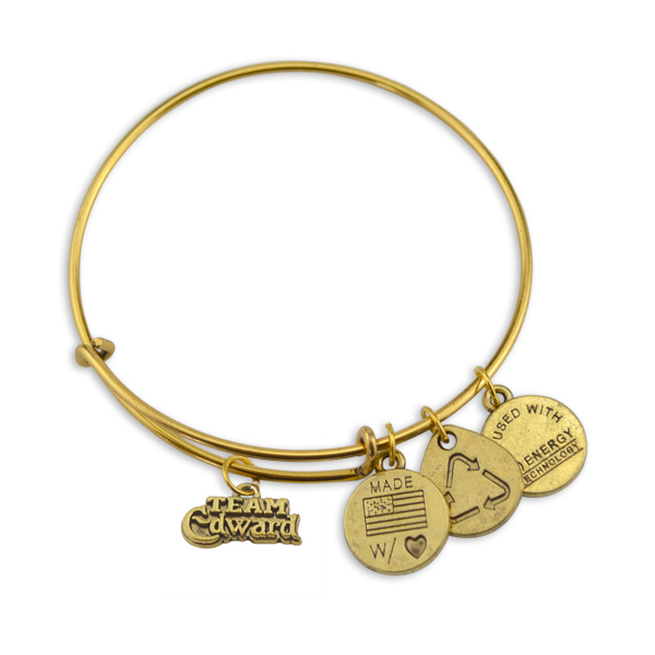 Hot Sale 5pcs/lot Antique Copper Letter Team Edward DIY Wristband Charms Trendy Bracelets Wire Bangles for women(China (Mainland))