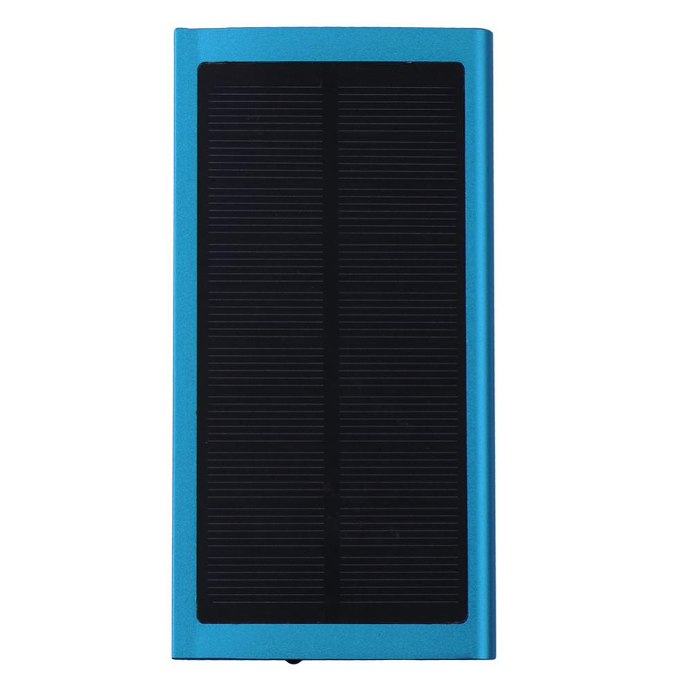 Portable Phone Charger 20000 mAh Ultra Thin Aluminum Alloy Power Bank External Battery Charging Treasure for Smart Phone