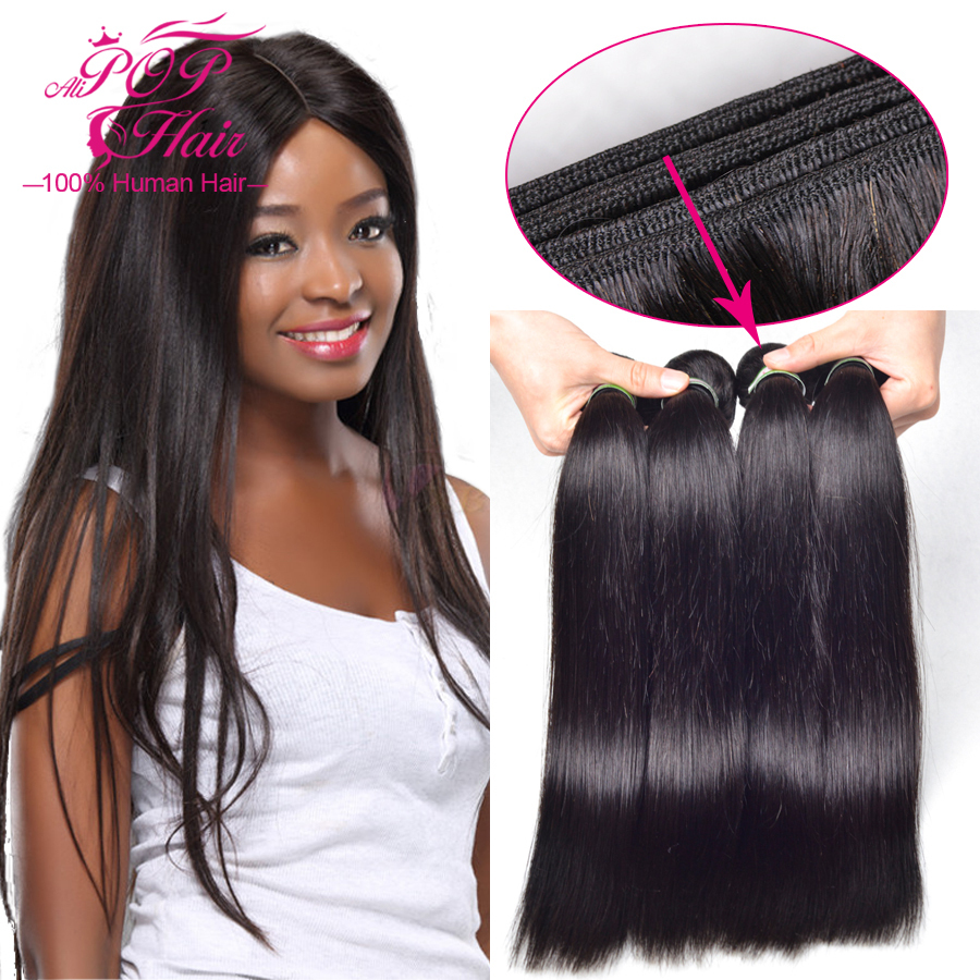 Malaysian virgin hair straight,3pcs/lot malaysian straight hair bundles,Pure human hair weave 8''-30' 6A unprocessed virgin hair