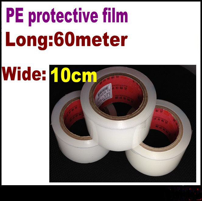 3pcs 10cm * 80m HighQuality screen LCD vacuuming Sticky gray tape sticky dust film sticky dust tape LCD Screen protective film(China (Mainland))