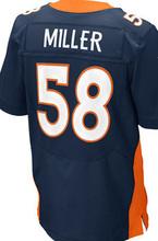 2016 NEW MEN 'S Cheap Peyton Manning 58 Von Miller 10 Emmanuel Sanders 12 Paxton Lynch white orange blue 100% Stitiched jersey(China (Mainland))