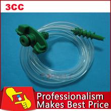 2pcs/lot NEW 3CC Dispensing Syringe Barrel Valve Robot Glue Dispenser Barrel Adapter Assembly free shipping(China (Mainland))