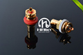 Amplifier amp rca HI end cmc816 RCA audio copper gold plated plug RCA connector hifiboy free