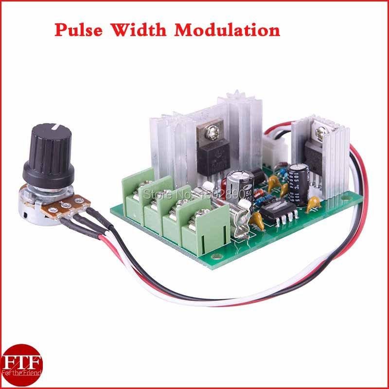 Dc 10v 30v 120w Pulse Width Modulation Pwm Motor Regulator