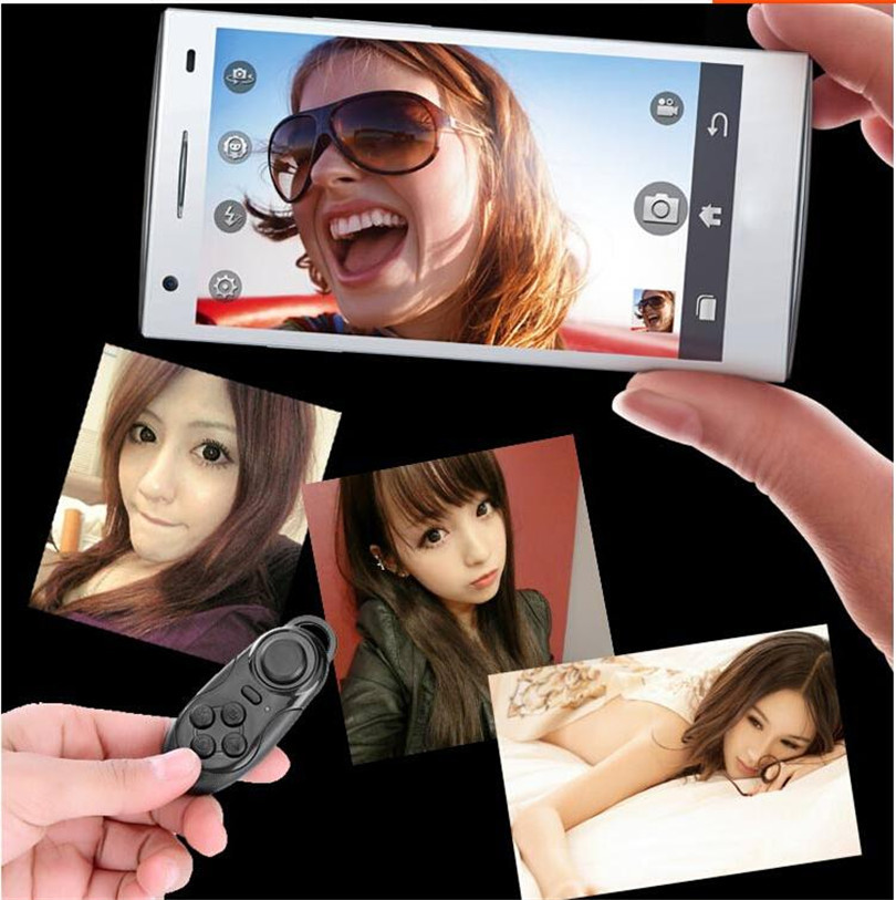 Bluetooth Autodyne Artifact Wireless Mini Game Remote Controller Phone Camera Shutter Release Self Timer for IOS