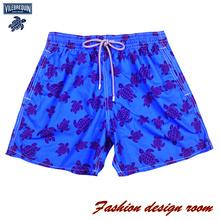 vilebrequin Brand 2015 swimsuit beach men shorts short brand swimwear swim boardshort quick drying bermudas(China (Mainland))