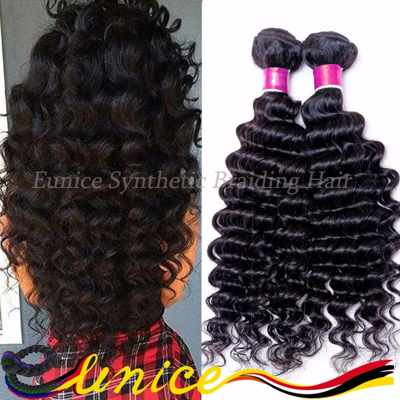 6A Brazilian Curly Hair 8pcs/pack For Full Head Kinky Curly Deep Hair Unprocessed Brazillian Human Weave Hair Bundles Wave Deep