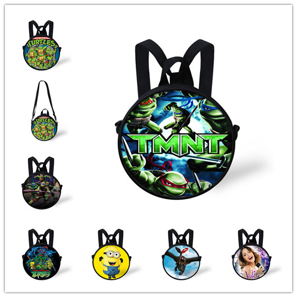 3D Cartoon Teenage Mutant Ninja Turtles School Bags Children Boys TMNT Baby Backpacks Kindergarten Girls Mochila Infantis - KIDS FOR YOU,CO.,LTD store