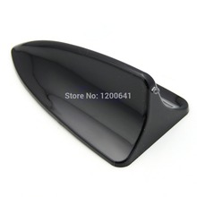 M89 Free Shipping Universal Fit Car Shark Fin Dummy for BMW Style Antenna LED Light Decoration Black(China (Mainland))