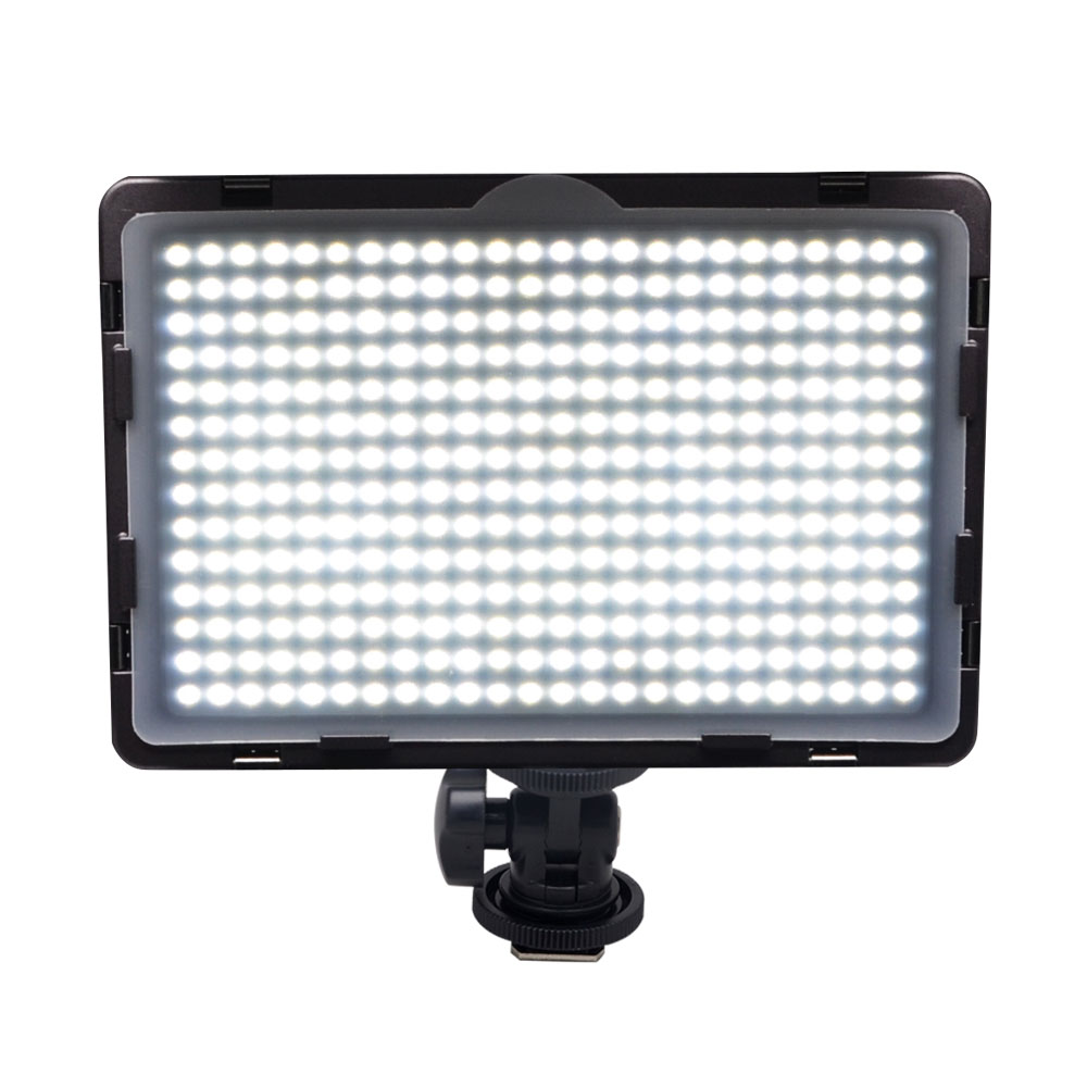 Mcoplus LED-340A Video LED Light for DSLR Camcorder Video Camera Video Shooting Lumen 1600LM with Hot Shoe Mount(China (Mainland))