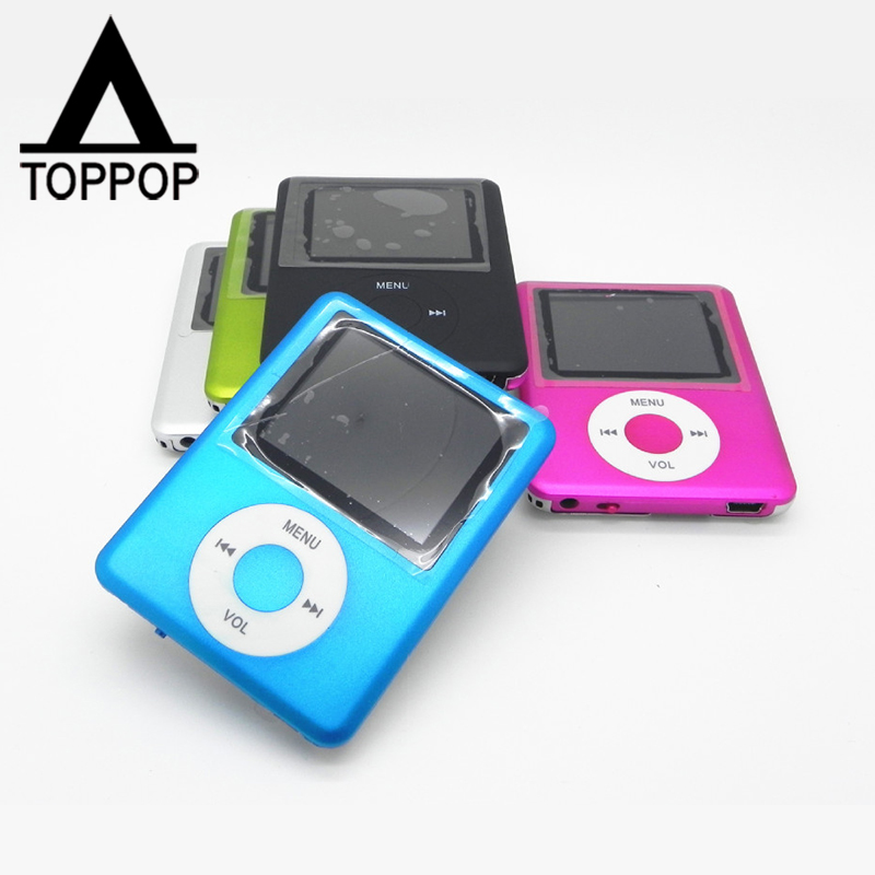 "Fashion Digital MP3 MP4 Player 350mah 1.8"" LCD Screen 4GB Storage Built In Speaker FM Radio Recording Music Video Movie Player(China (Mainland))"