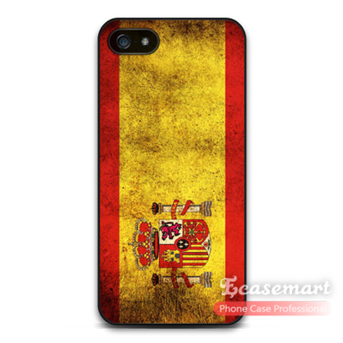 Retro Spain Flag Case For iPhone 6 6 Plus 5 5s 5c 4 4s iPod 5 Support Global Retail and Wholesale Brand New(China (Mainland))