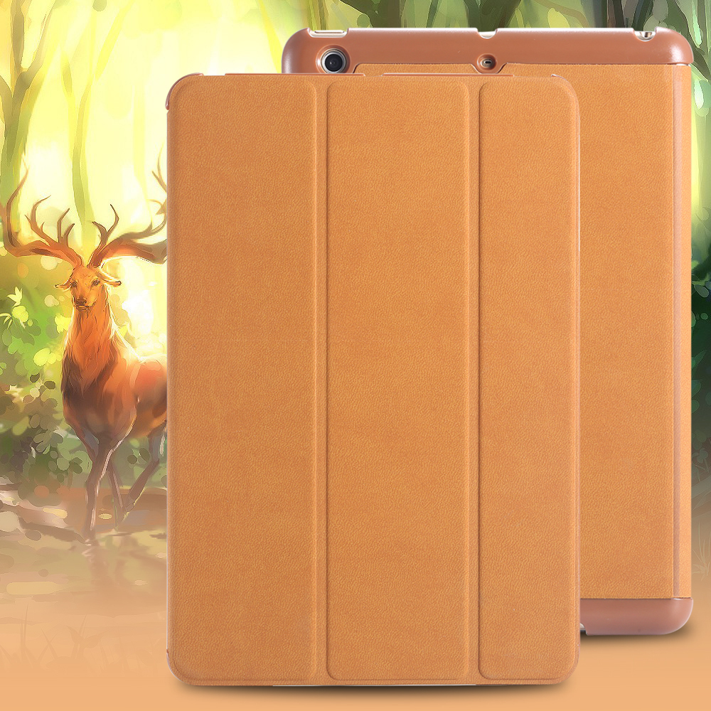 New Arrival Unique Sleep Wake Function Smart Slim Case For Ipad 2 3 4 PU Leather Case For Ipad2 Free Shipping AAA04517(China (Mainland))