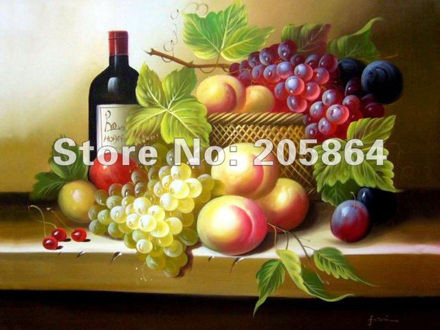Hot sale wall gobelin tapestries,delicious fruits and wine for festival, size 20x25cm DEC picture for small room and porch