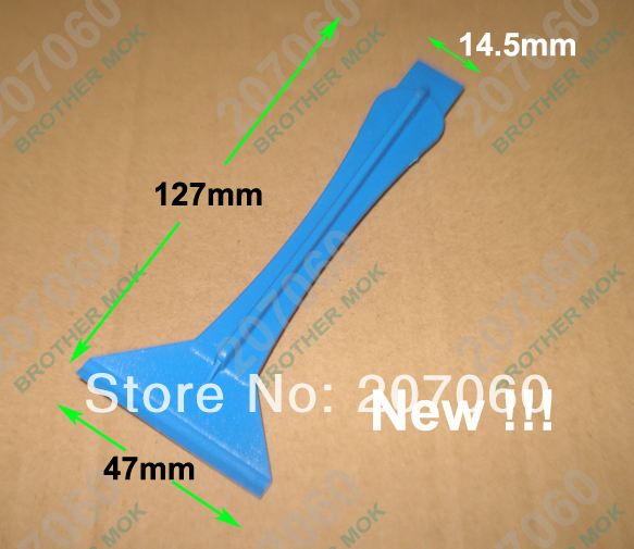 Blue Plastic Pry Tool Prying tools Crowbar Opening Tools for iPhone iPad Tablet PC LCD Repair 500pcs/lot