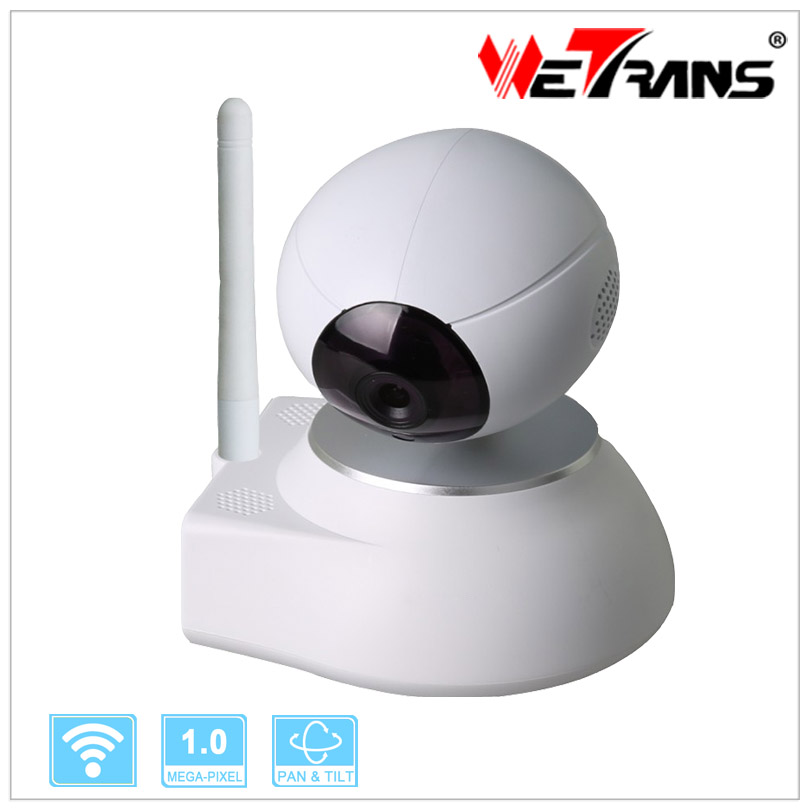 Фотография House Hold Two-way Audio Pan/tilt 10m IR Distance 1.0 Megapixel High Definition Wireless Recording Security Camera