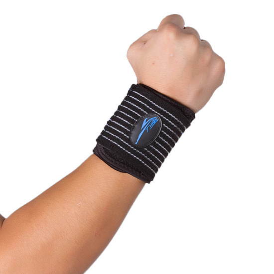Professional Wrist Brace Relief Pain Adjustable Elastic Strong Fitness Sports swfely Pad BELT Support Tape Protector Health Care(China (Mainland))