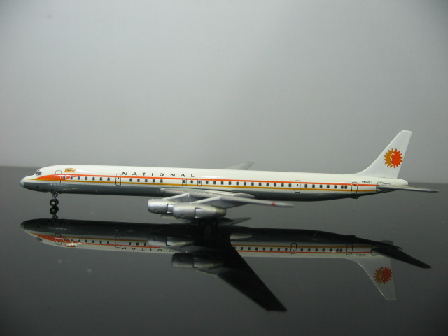 Out of print StarJets 1: 500 American Airlines DC-8-61 N45090 Alloy aircraft model Favorites Model(China (Mainland))