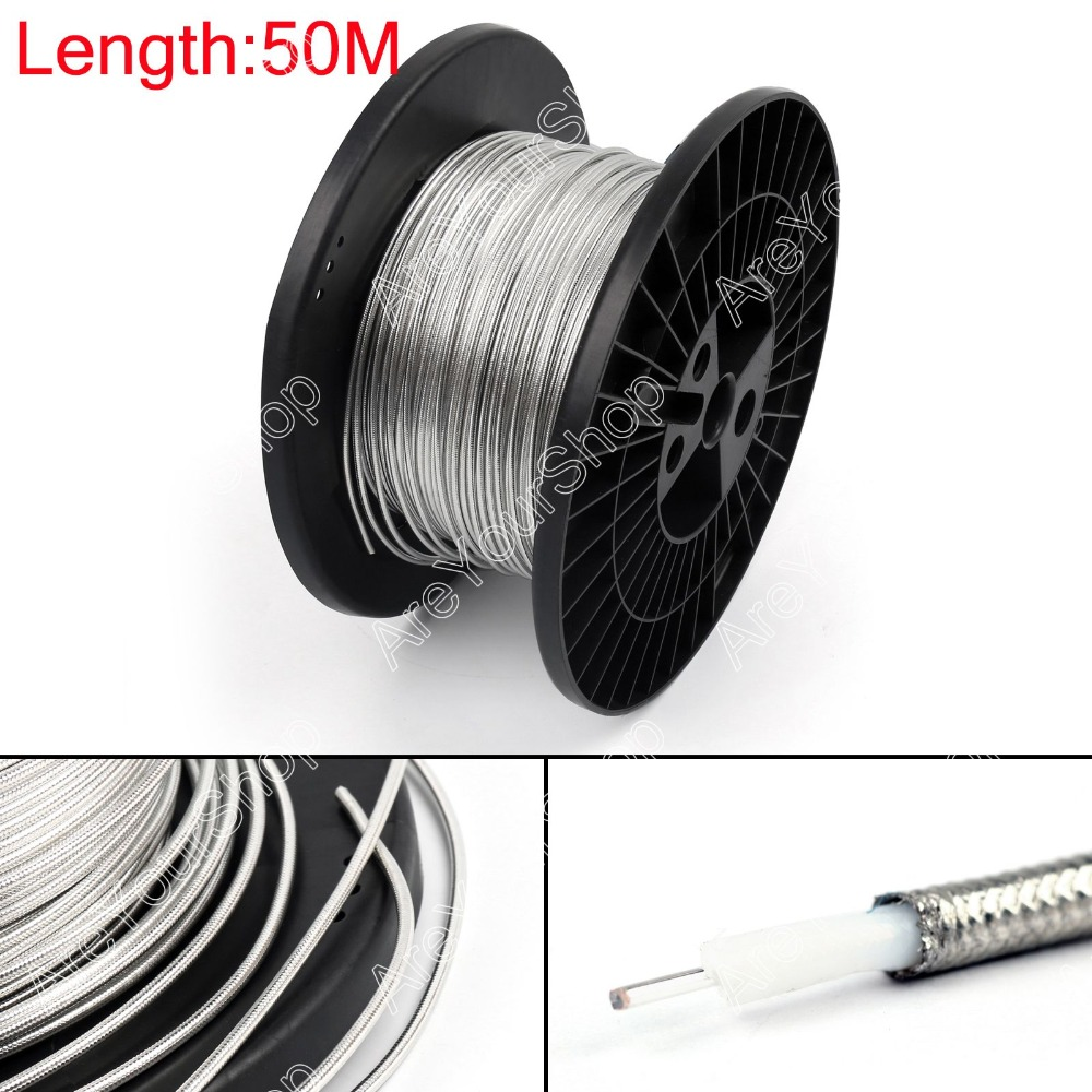 Sale 5000cm RG402 RF Coaxial Cable Connector Semi-rigid RG-402 Coax Pigtail 164ft High Quality Plug Jack Adapter Wire Connector<br><br>Aliexpress