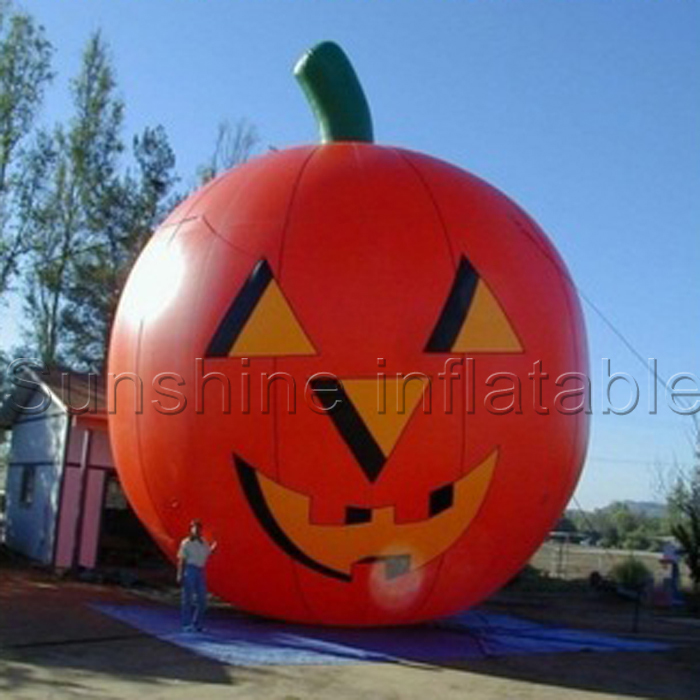 Outdoor giant halloween decoration inflatable pumpkin for halloween promotional(China (Mainland))