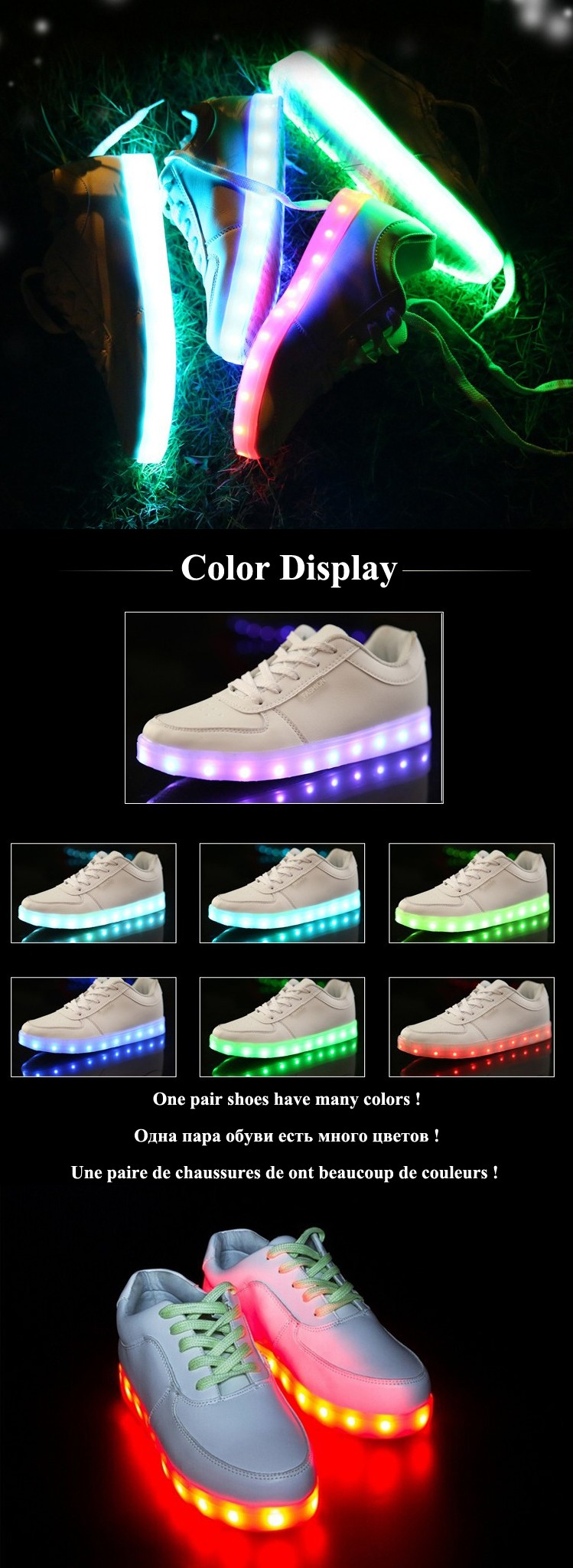 8 Colors Led Shoes for Adults Women Casual ShoesLed luminous Shoes 2015 Hot Fashion Led Light shoes for Men Women Size 35-46