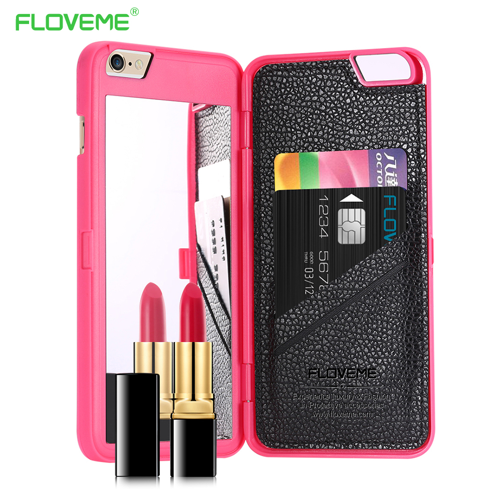 Floveme Stylish Chic With Mirror Case for iPhone 6 /6s for ...
