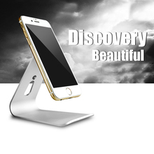 Aluminum Micro Suction Stand For iPad iPhone font b Cellphone b font tablet PC Holder Cradle