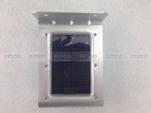 16 LED Garden Wall Fence Lamps Outdoor Waterproof Light Solar Motion Sensor lighting(China (Mainland))