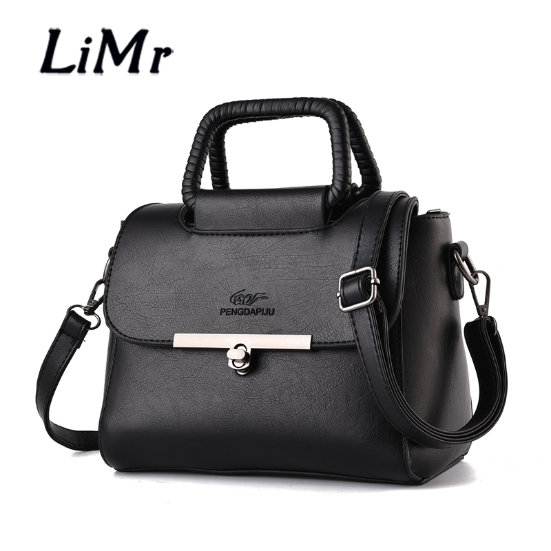LiMr Bags Autumn Fashion Sport Lady PU Leather Messenger Bags Solid Small Soft Leather Women Flap Shoulder Bags Bolsa Crossbody