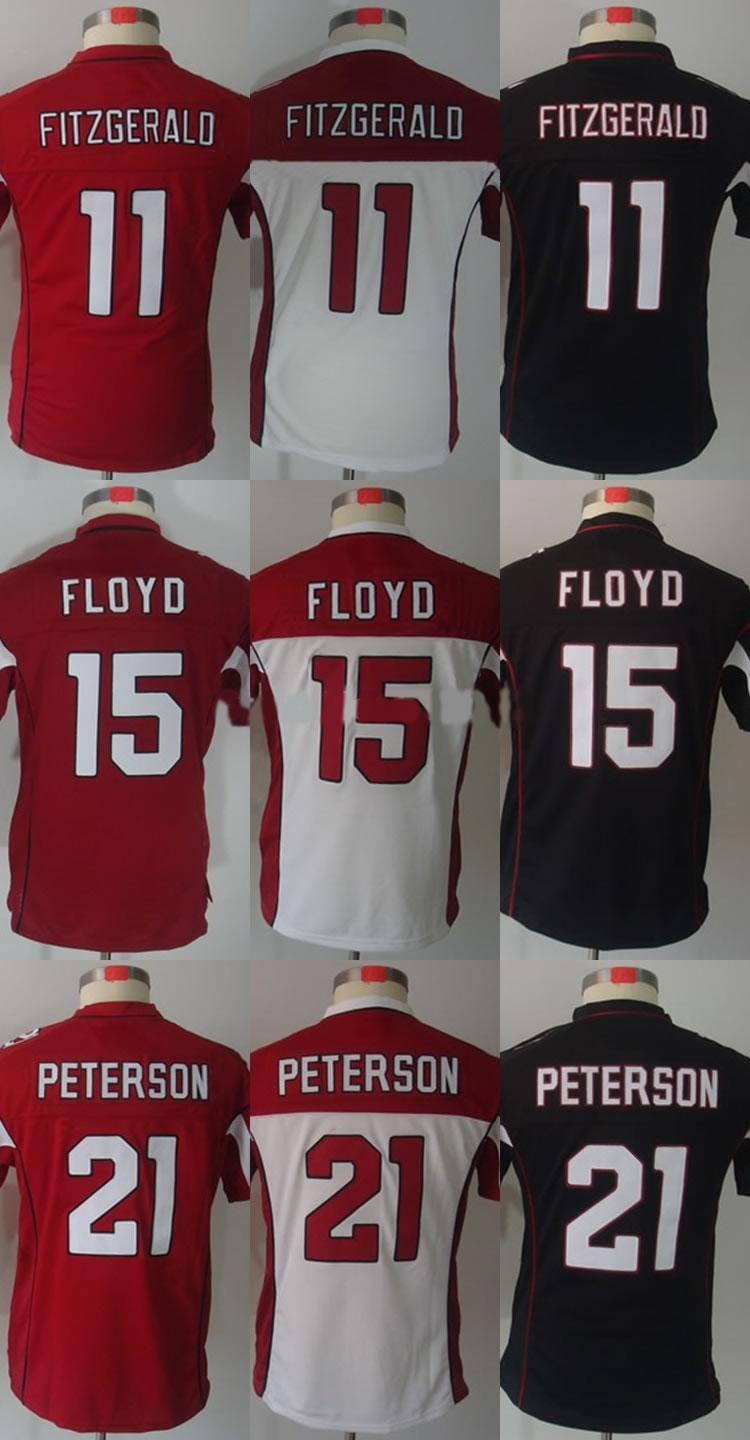 Womens Ladies Authentic #11 Larry Fitzgerald #15 Michael Floyd #21 Patrick Peterson Football Jersey<br><br>Aliexpress