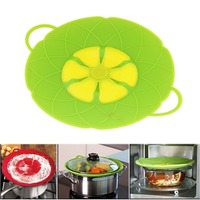 New Arrive Kitchen Gardget WOW Boil Buddies Silicone Over Spill Stopper Pot Pan Lid Cover Prevents Mess Free Shipping