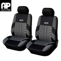 AULLY PARK Polyester Fabric Car Seat Cover Universal Car Covers Car Styling Covers For Car Seats