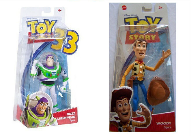 Orignal Toy Story 3 Buzz Lightyear Sheriff Woody High Quality PVC Action Figure Cartoon Toys Collectible Figures Toy 2pcs/set <br><br>Aliexpress