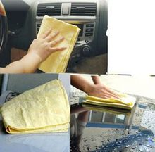 Cheap 43cm 32cm Chamois Leather Towel Cleaning Towel Car Wash Towel Dry Hair Towel Cleaning Cloth