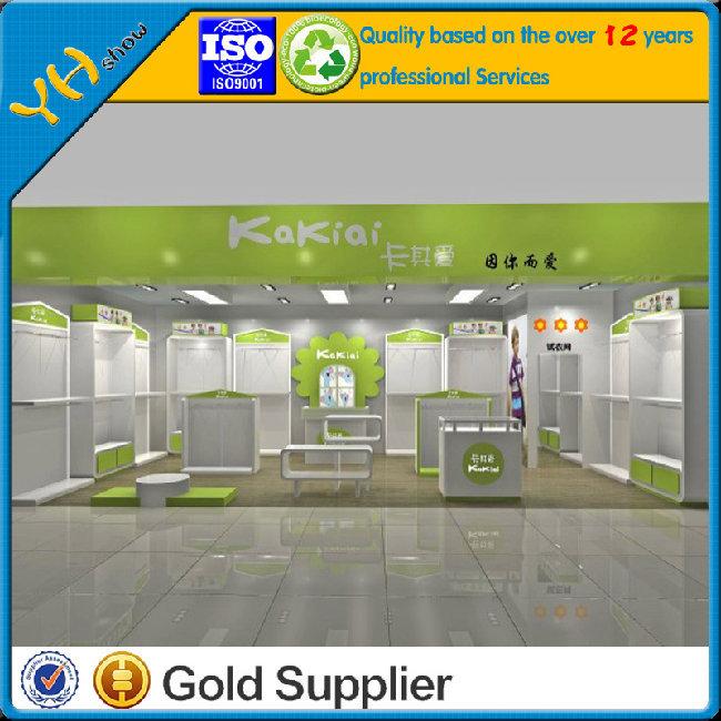 Retail Clothing Store Furniture/Clothing cabinet /clothing shelf/childen's clothing Furniture display racks 052(China (Mainland))