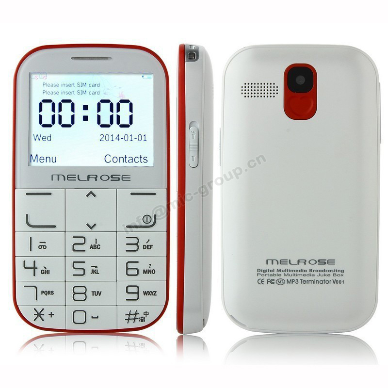 2015 Melrose i310+ Big Keyboard Wireless Charging Mini Cell Phone For Old People Dual sim MP3 Flashlight SOS Senior Mobile P149(China (Mainland))