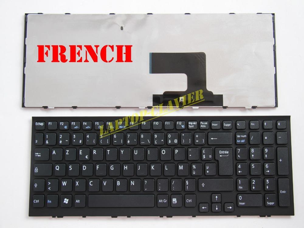 AZERTY for Sony Vaio VPCEE3E1R/WI VPCEE3J0E/BQ VPCEE3J1E/WI VPCEE3L0E/WI VPCEE3M1E/BQ VPCEE3M1E/WI Clavier French Keyboard<br><br>Aliexpress