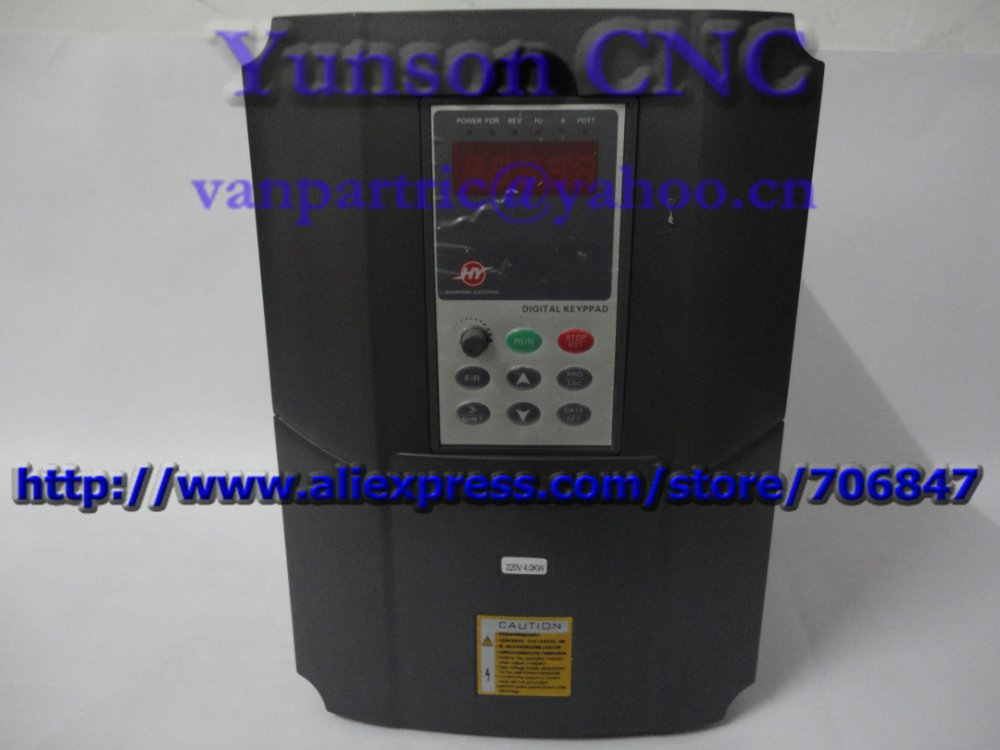 4kw 5hp 400hz variable frequency drive vfd inverter220v for 3 phase vfd single phase motor