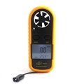 GM816 Mini Digital Anemometer Wind Speed 0 30m s Temperature meter 10 45C with LCD Backlight
