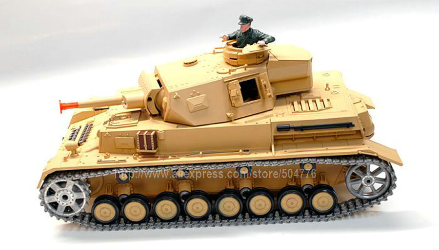2.4G RC 1/16 DAK Pz. Kpfw, 4 Aust. F-1, with BB Shooting, with Sound and smoke, Metal Belt , 3858-1 Upgrade 2.4G version(China (Mainland))