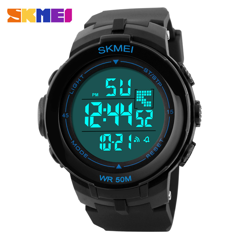 SKMEI Brand Men LED Digital Watch Sport Watches Relogio Masculino Military Fashion Casual Waterproof Wristwatches Montre Homme<br><br>Aliexpress