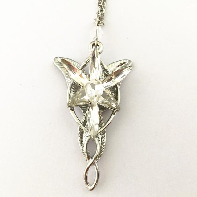 Freeshipping wholesale 20pc a lot Arwen Evenstar BK Necklace BB10