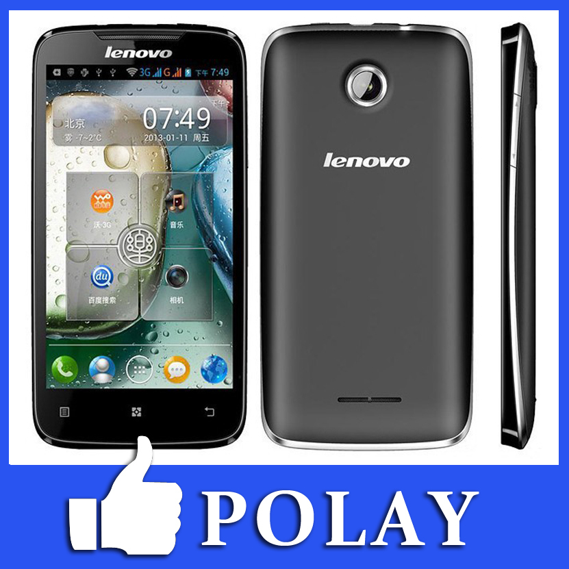 """Original Lenovo A390T SC882 Dual Core Android 4.0"""" IPS RAM 512MB + 4GB ROM Dual SIM 5MP GSM GPS Wifi Unloacked Cell Mobile Phone(China (Mainland))"""